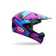 Blue/Pink SX-1 Stack Helmet