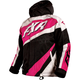 Youth/Child's Black/White Weave/Fuchsia Cold Cross Jacket