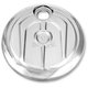 Chrome Scallop Style Fuel Door - 0200-2005SCA-CH