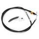 Black Vinyl Coated Clutch Cable for Use w/Mini Ape Hangers - LA-8320C08B
