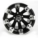 Black 393X Cast Aluminum ATV/UTV Wheel - 0230-0521