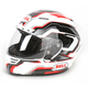 White/Black/Red Star Spirit Helmet - Convertible To Snow