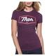 Womens Plum Script T-Shirt