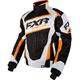 Black Digi/White/Orange Helix Jacket