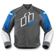 Blue Hypersport Prime Leather Jacket
