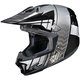 Black/Gray/Silver CL-X7 Cross-Up MC-5 Helmet