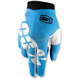 Cyan I-Track Gloves