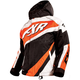 Youth/Child's Black/White Weave/Orange Cold Cross Jacket