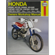 Honda Dirtbike Repair Manual - 2218