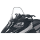 19 in. High Black/Clear Windshield - 12930