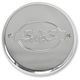 Chrome S&S Logo Air Cleaner Cover - 170-0242