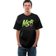 Black/Green Warped T-Shirt