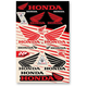 Universal Honda Sticker Kit - N30-1059