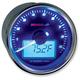 GP-Style Universal Tachometer w/Temperature Gauge - BA551B22