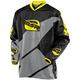 Black/Gray/Yellow Renegade Jersey