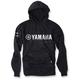Black Yamaha Team Pullover Hoody