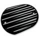 Black Front Master Cylinder Cover - 10-380B