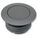 Black Wrinkle Vented Pop-Up Gas Cap - 0703-0324