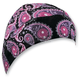 Purple Paisley Flydanna® Head Wrap - Z691