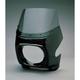 Black Large Rectangular GP Sportbike Fairing - 005010