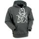 Gray Coat of Arms Hoody