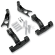 Black Passenger Floorboard Mount Kit - 1621-0513