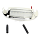 Front White LED Fender Tip Housing w/Clear Lens - GEN-FT-WC
