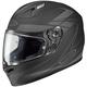 Black/Charcoal Force FG-17 Helmet