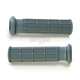 Medium Gray ATV/SNOW Half Waffle Grips - 02-4838