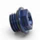 Aluminum Blue Oil Filler Plug - 24-071