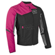 Womens Pink Backlash Textile Jacket
