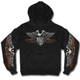 Black Brotherhood Eagle Hoody