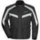 Black/Silver Saber 4.0 Textile 3/4 Jacket
