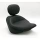 17 1/2 in. Wide Vintage Solo Seat w/Removable Backrest - 79530