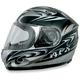 Silver W-Dare FX-90 Helmet