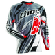Gray Flux Shred Jersey