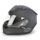 Matte Black Star Carbon Helmet - Convertible To Snow