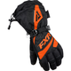Womens Black/Orange Fusion Gloves