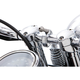 Chrome 7/8 - 1 in. Handlebar Ball Mount - 50112