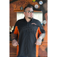 Black/Orange Hardcore Workshirt