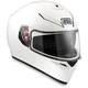 White K-3 SV Helmet