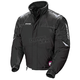 Womens Black/Silver Storm Snowmobile Jacket