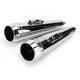 3.5 in. True Power High-Performance Chrome Mufflers W/Chrome Tips - LA-1593-02