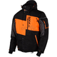 Black/Orange Squadron Jacket