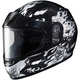 Youth White/Gray/Black CL-Y Flame Helmet