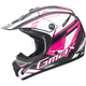 Black/Pink/White GM46.2 Traxxion Helmet