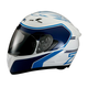 White/Blue Strike Ops Helmet