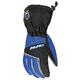 Black/Blue/Silver Storm Snowmobile Gloves