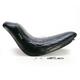 12 3/4 in. Wide Bare Bones Diamond Stitch Solo Seat - LK-007 DM