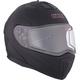 Matte Black Tranz 1.5 RSV Modular Snow Helmet